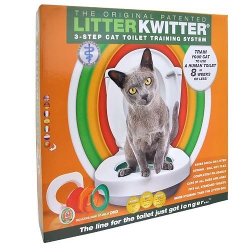 Litter Kwitter Cat Toilet Training Kit