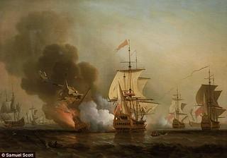 San Jose galleon painting