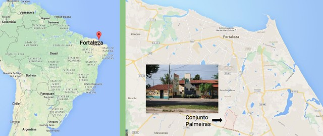 Banco Palmas_Location of Fortaleza