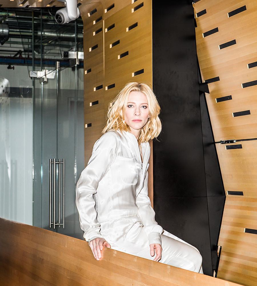 Кейт Бланшетт — Фотосессия для «DuJour» 2015 – 2