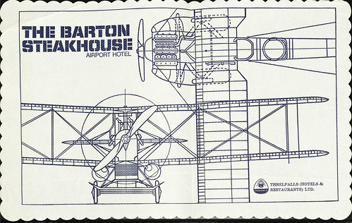 Barton Airport Table Cloth, 1970