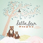 Hello Bear by Bonnie Christine-01