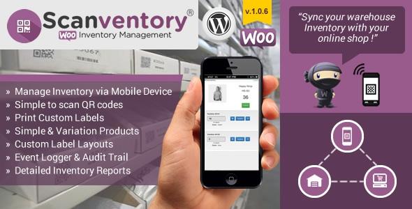 Woocommerce Mobile Inventory Management v1.0.6