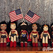 Wonder Woman dolls designed and crocheted by me.