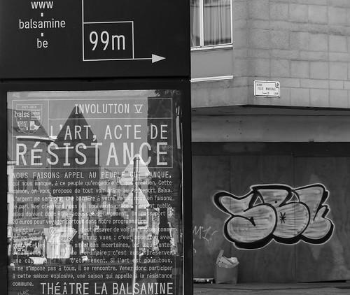 The resistance act - L'acte de résistance
