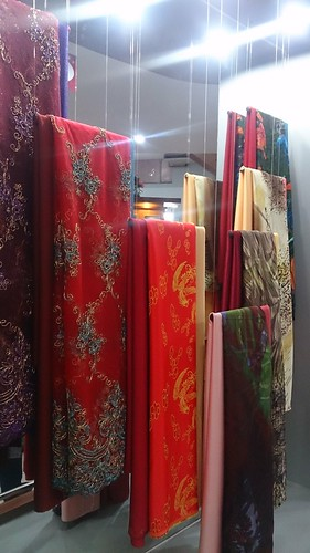 hanging silks