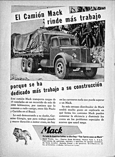 Mack L-Series Truck, 1940-1956, Ad (Argentina)