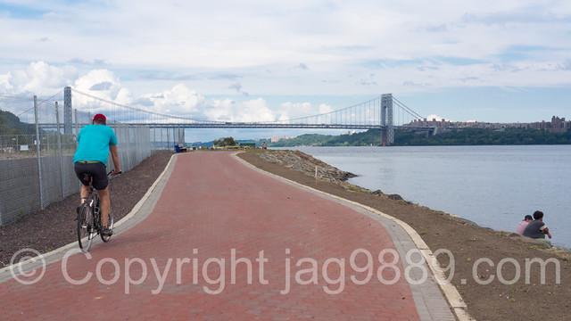 Hudson River Waterfront Walkway, Edgewater, New Jersey