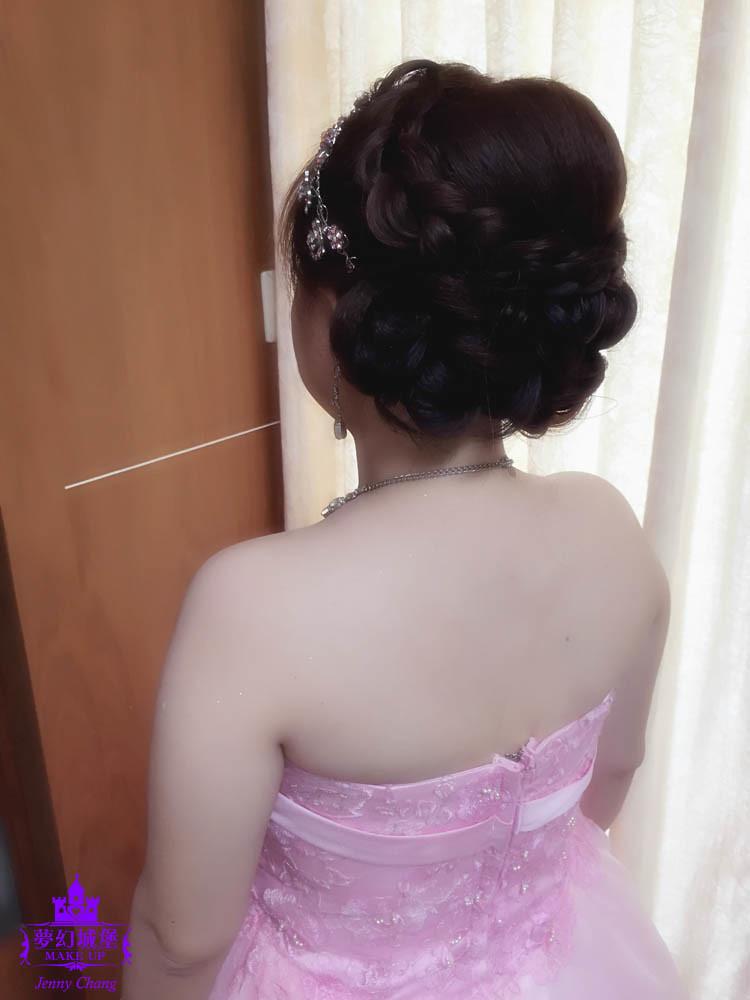 【新秘蓁妮】bride雅婷 訂婚造型 / 台中潮港城婚宴會館