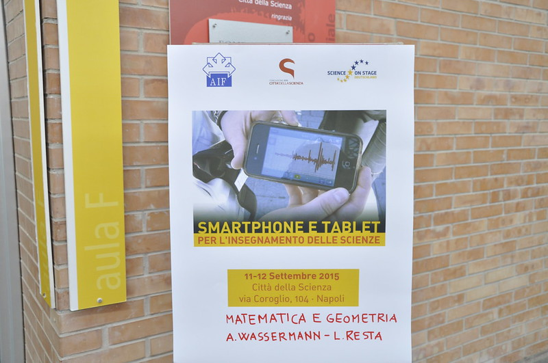 Smartphone e tablet per l'insegnamento delle scienze