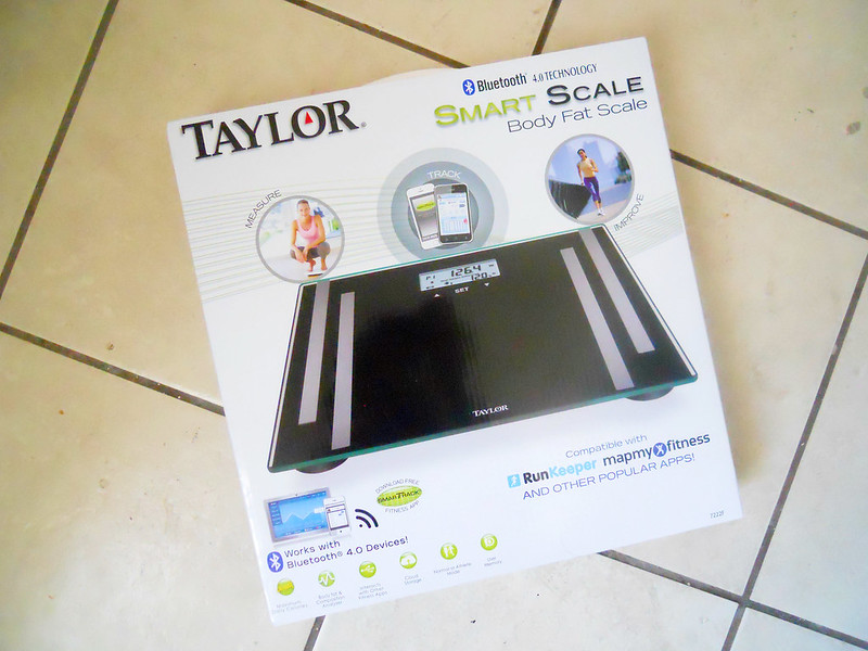 Taylor Bluetooth Body Fat Smart Scale and App