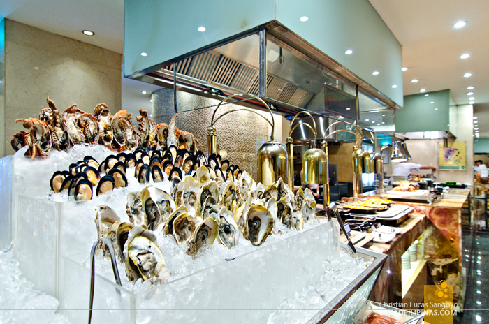 Marriott Café Manila Seafood Section