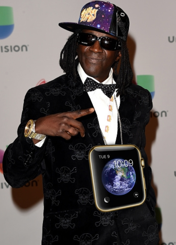 The Flava Flav Limited Edition Apple Watch