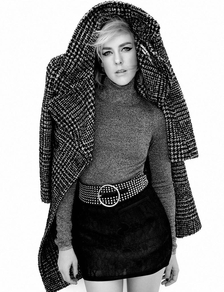 Джена Мэлоун — Фотосессия для «Flaunt» 2015 – 2