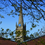 Church Steeple in Preston