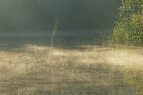 ...fog rising like a chimney! :)