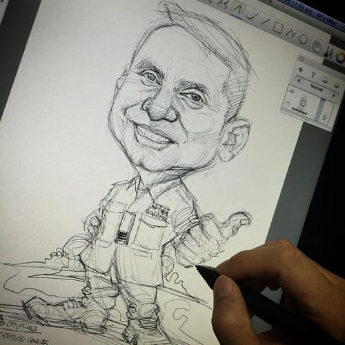 Sketch for my regular client!