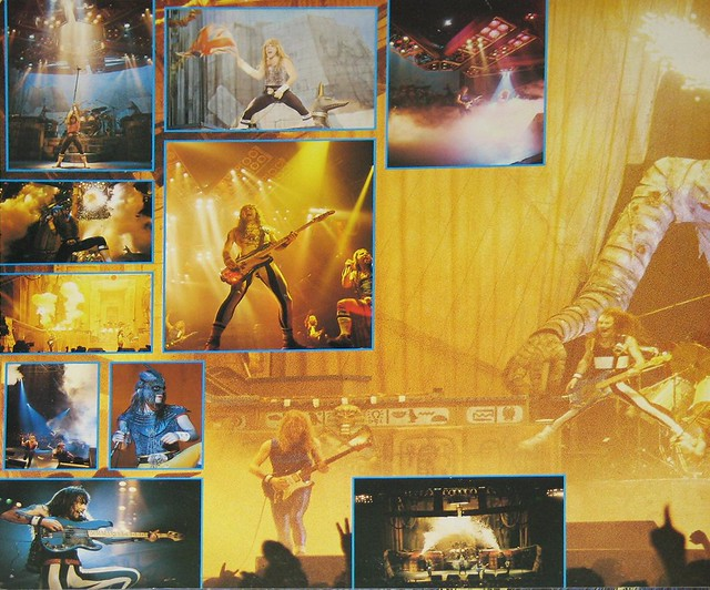 IRON MAIDEN Live After Death 2LP France