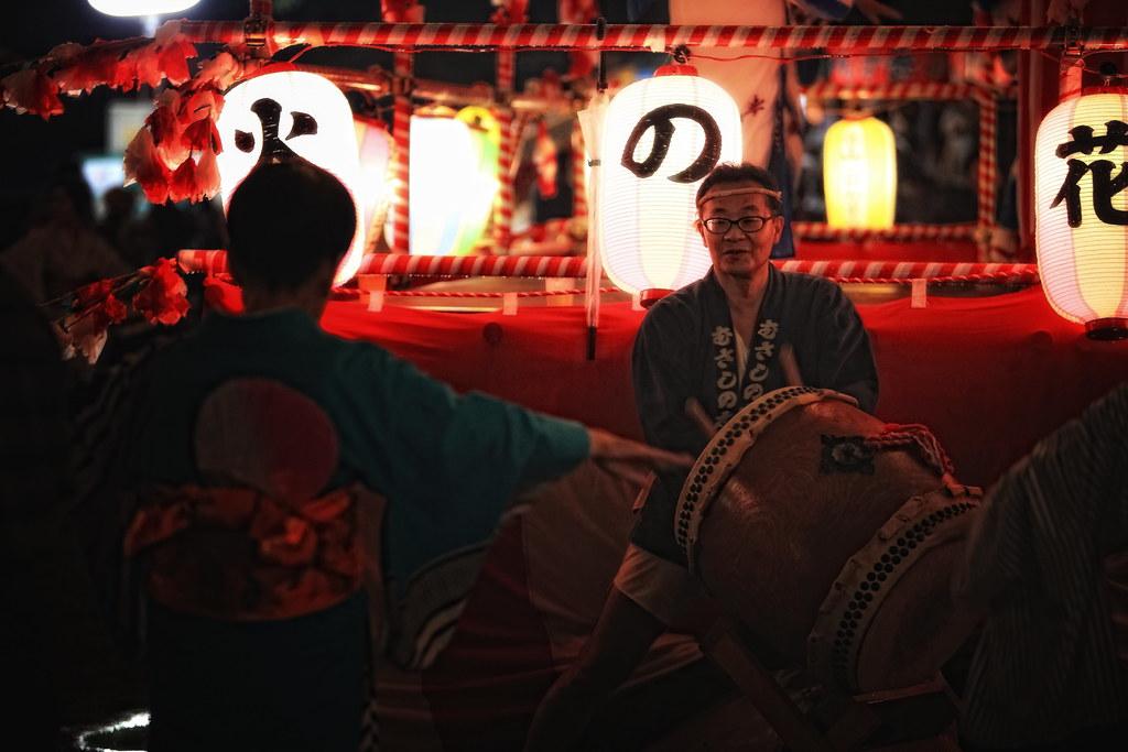 Obon Dancing In Kiyose