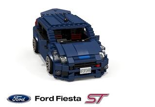 Ford Fiesta ST (B299MCA)