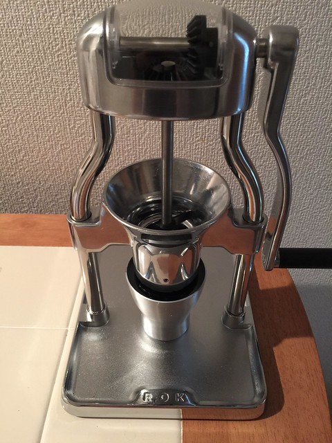 My ROK Coffee Grinder