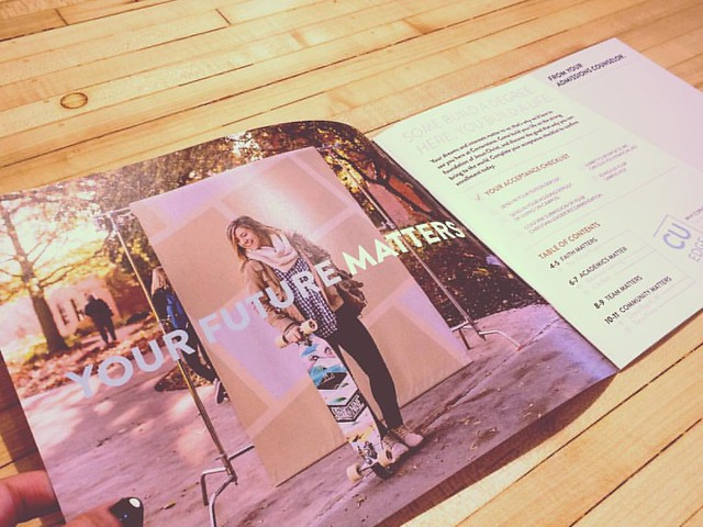 So thrilled for where Cornerstone University is headed, and the chance to help with this beautiful viewbook. Keep building #whatmattersCU