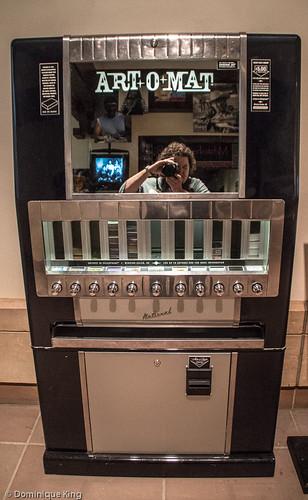 Art-o-mat, Eiteljorg Museum, Indianapolis, Indiana