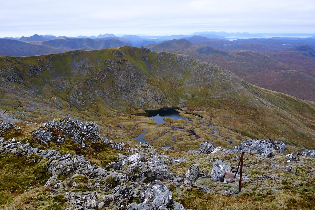 Across Coire Lochan from Stuc Bheag