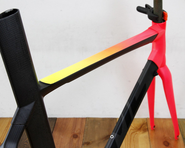 TIME CARBON FRAME REPAINT BY SWAMP THINGS