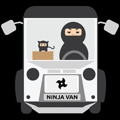 ninjavanmascot
