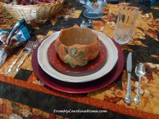 Autumn Tablescape 8
