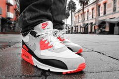 2010 Nike Infrared Air Max 90