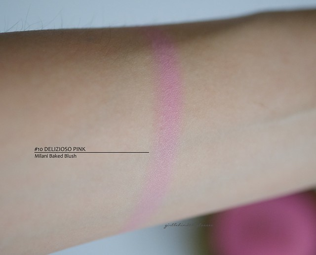 Milani Baked Blush Delizioso Pink swatch
