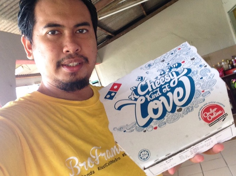 #DTopSecret Domino's Pizza