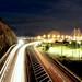 Bridge Light Trails by gblaxos