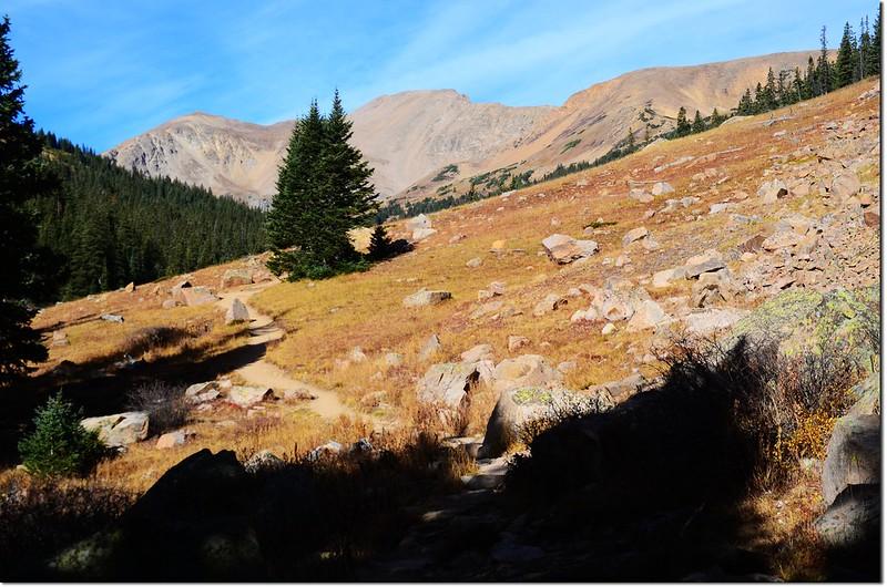Pentingell Peak from Herman Gulch Trail 3