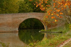 Canal du Midi, En Serny.