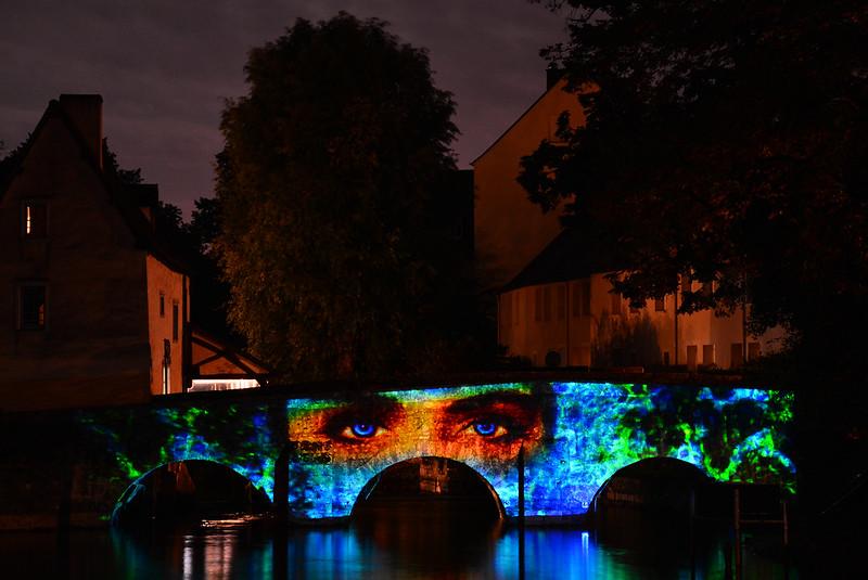 Chartres en Lumières 2015 - Pont des Minimes