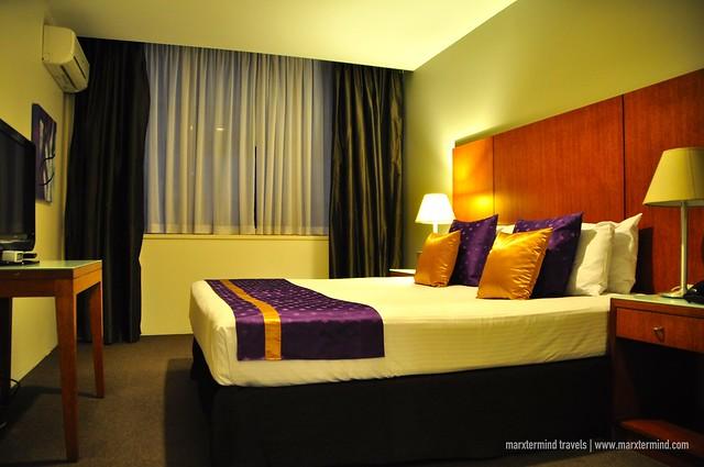 My Bedroom at Park Regis Griffin Suites