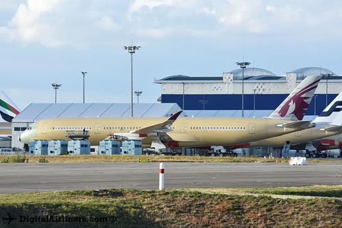 F-WZGB / A7-ALx A350-900 msn 033 Qatar Airways
