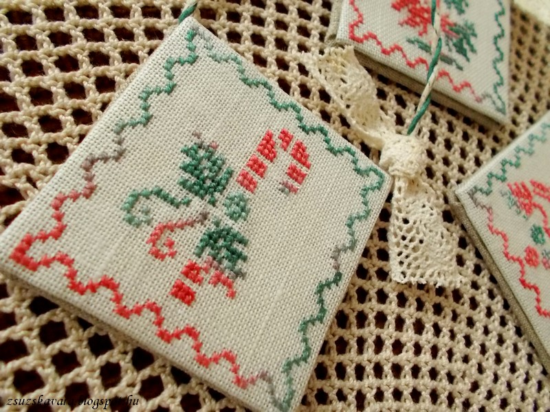 Plum Pudding Needleart, Holiday, christmas, ornament, (3)