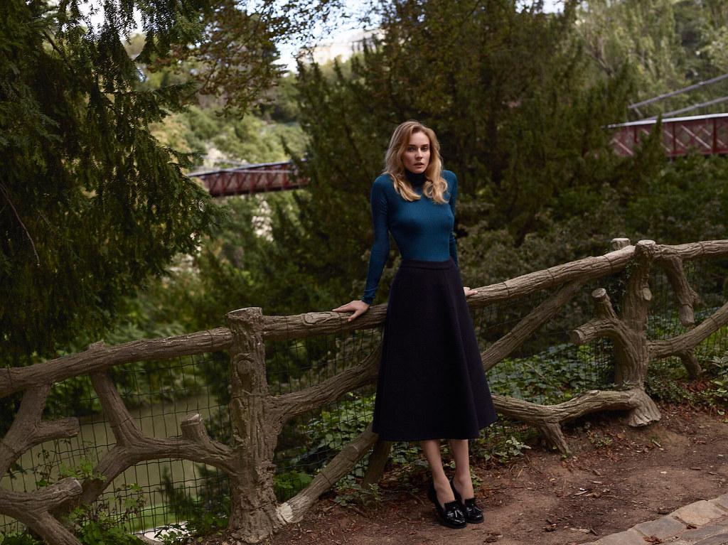 Диана Крюгер — Фотосессия для «Vanity Fair» FR 2015 – 4