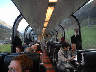 Inside the Bernina Express