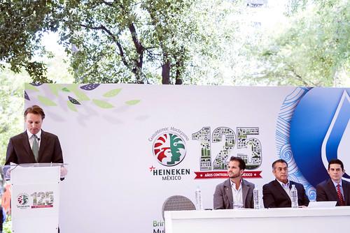 Cervecería Cuauhtémoc Moctezuma contribuye al cuidado del agua y el planeta