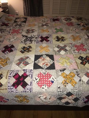 crazy cat lady quilt