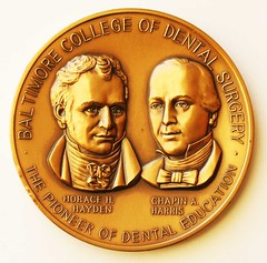 Baltimore College of Dental Surgery medal obv