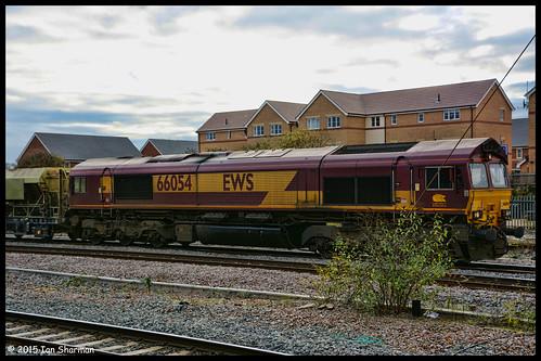 No 66054 11th Nov 2015 Peterborough