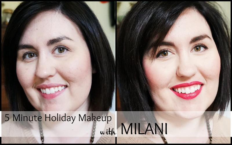 Five Minute Holiday Makeup Milani 13