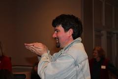 Game contestant Daniel Keener Photo by George Reiske.