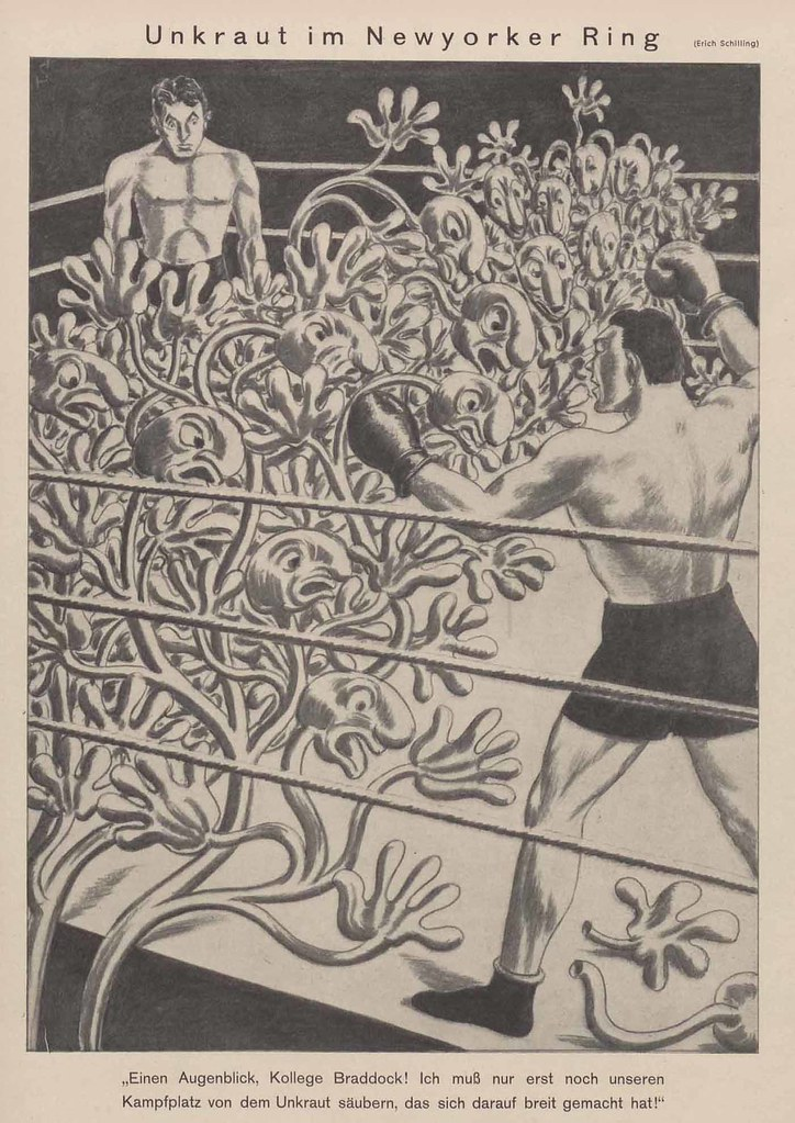 Erich Schilling - Weed in New York Ring, 1937